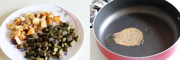 Aloo Bhindi Recipe | Punjabi Aloo Bhindi Masala Recipe