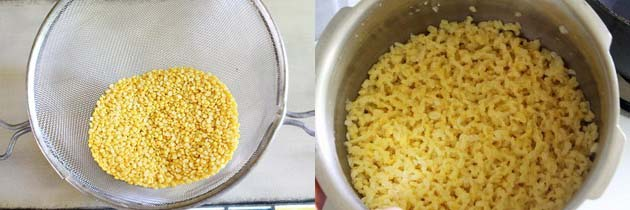 Boiled Moong dal