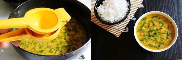 Dal Palak Recipe (How to make Moong Dal Palak Recipe), Palak Dal