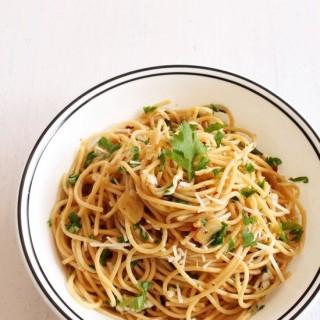 Spaghetti aglio e olio recipe