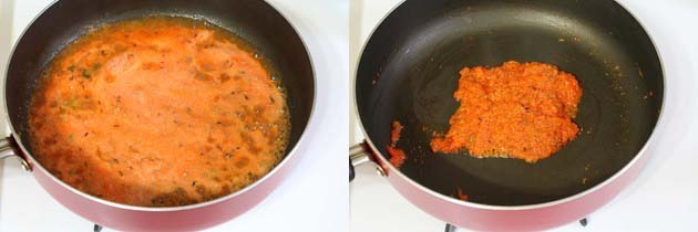 cooking tomato puree