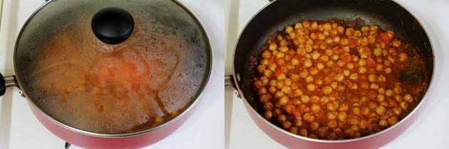 chole without onion and garlic