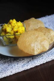 Poori Recipe (Puri Recipe) | How to make Pooris
