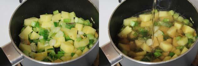 Spring Onion Soup Recipe   How to make Scallion soup recipe