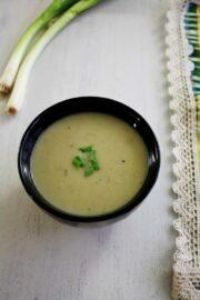 Spring Onion Soup Recipe | How to make Scallion soup recipe