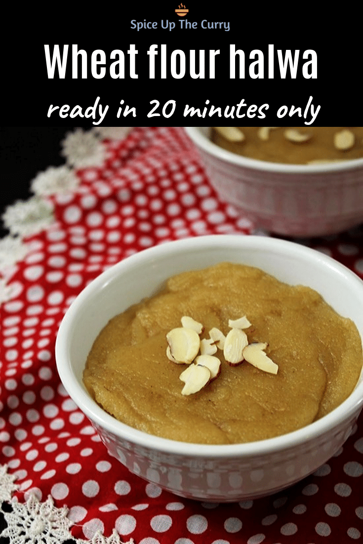 aate ka halwa recipe pin