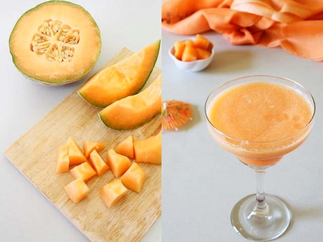 Cantaloupe Juice Recipe | Musk Melon Juice | Fruit Juice Recipes