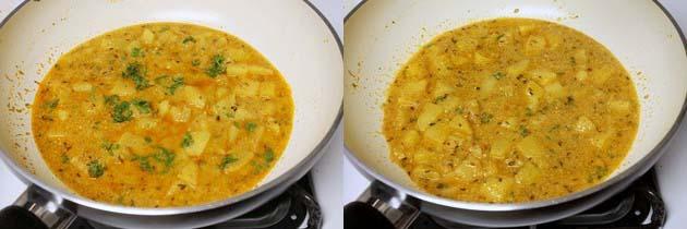 Dahi Aloo Recipe for vrat, Fasting | How to make Dahi Ke Aloo