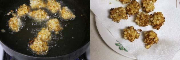 Sabudana Pakoda Recipe | Sabudana pakora for fasting, vrat, upvaas