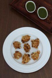 Sabudana Pakoda Recipe   Sabudana pakora for fasting, vrat, upvaas