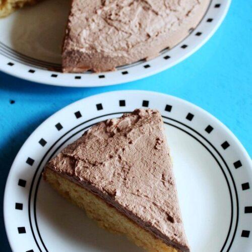 Eggless vanilla cake recipe | Eggless cake recipe with condensed milk