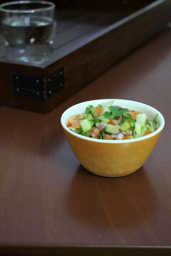 Kachumber Salad | kachumber Recipe | Onion Tomato Cucumber salad