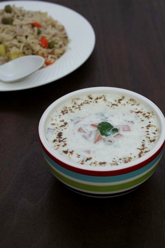 Onion tomato raita recipe | Easy 10 minutes onion-tomato raita