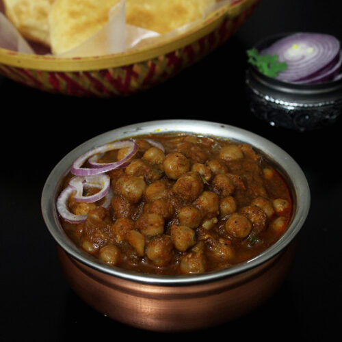 Chole Recipe (How to make Punjabi Chole Masala) Chana Masala
