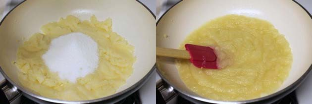how to make sooji halwa without ghee