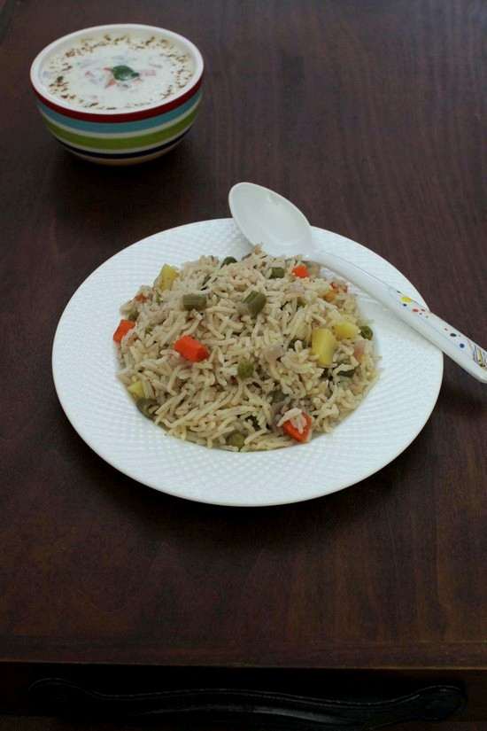 Veg Pulao Recipe | Vegetable Pulao | How to make veg pulao