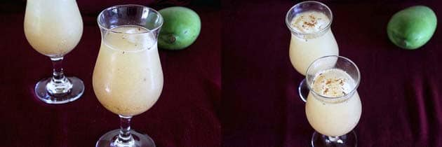 mango panna made from aam panna concentrate