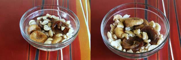 Cashew fig milkshake recipe | Kaju anjeer milkshake recipe