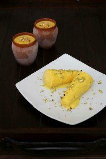 Mango kulfi recipe | How to make mango kulfi