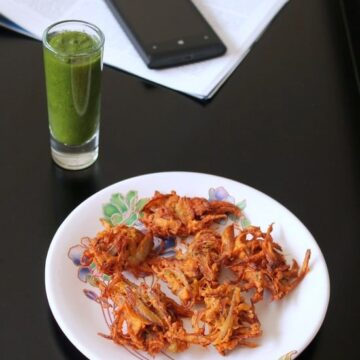 Onion Pakoda Recipe | Kanda bhaji recipe | Onion fritters