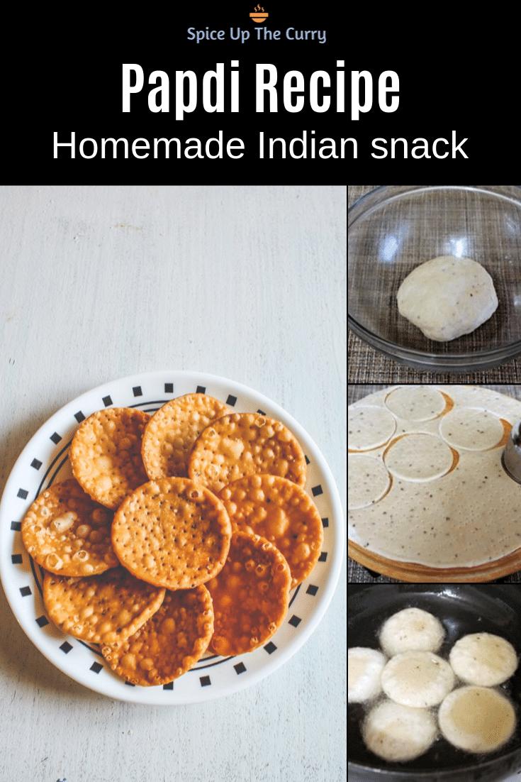 papdi recipe pin