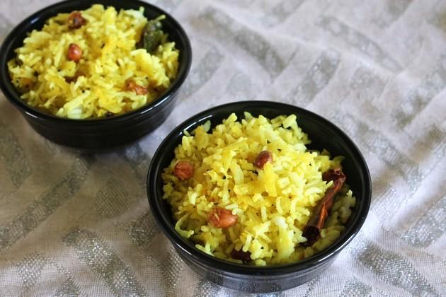 Mango Rice Recipe | Raw Mango Rice | Raw mango recipes