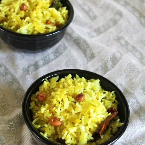 Mango Rice Recipe   Raw Mango Rice   Raw mango recipes