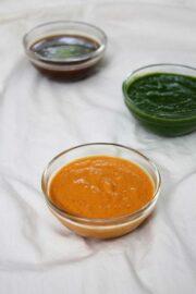 Red Garlic Chutney for Chaat Recipes | Spicy Garlic chutney recipe