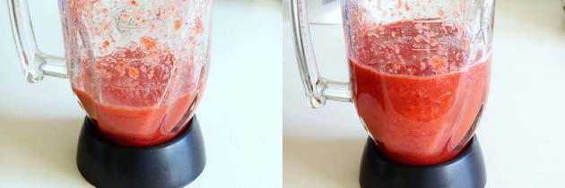 Blend the ingredients into blender