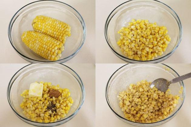 Cup corn recipe | Buttered corn recipe | Buttered cup corn