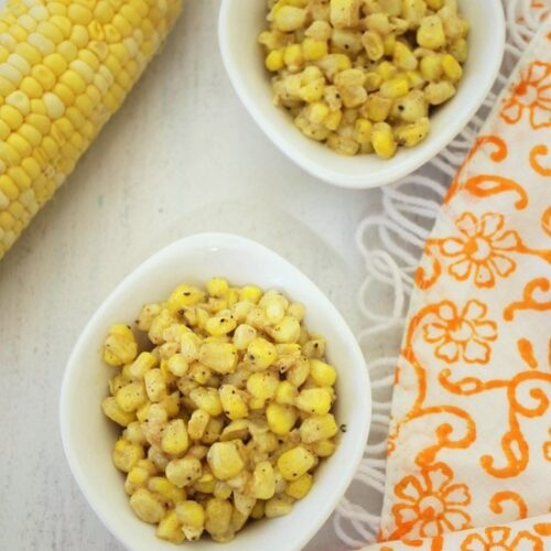 Cup corn recipe | Buttered corn recipe | Buttered cup corn