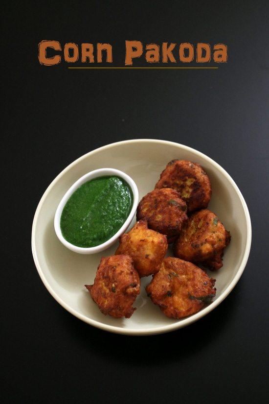 Corn Pakoda Recipe | How to make sweet corn pakoda