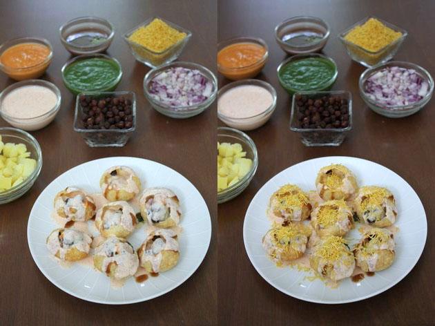 Dahi puri recipe | How to make dahi puri | Chaat recipe