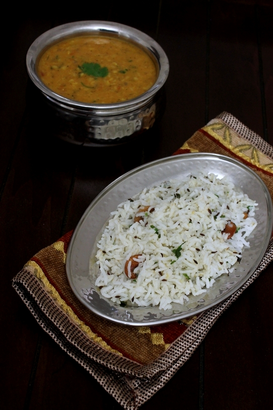 Jeera Rice Recipe - Restaurant style | How to make jeera rice