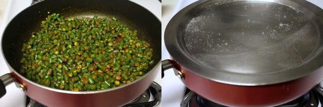 Long beans sabzi recipe   How to make long beans sabzi