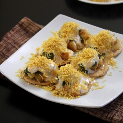 Papdi chaat recipe | Delhi style papdi chaat recipe