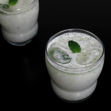Pudina chaas recipe   Mint chaas recipe   How to make chaas