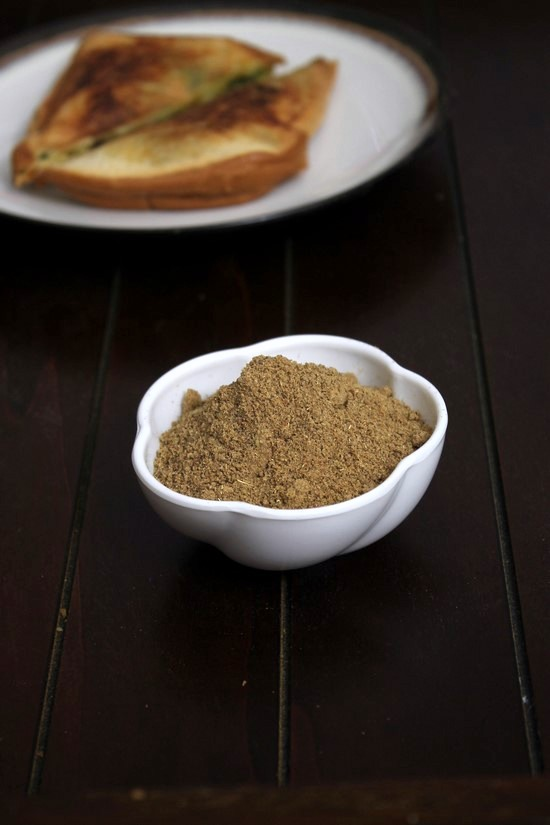 Sandwich masala Recipe | How to make sandwich masala powder