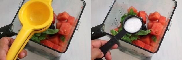 Watermelon mint juice recipe   Indian spiced watermelon juice