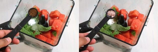 Watermelon mint juice recipe | Indian spiced watermelon juice