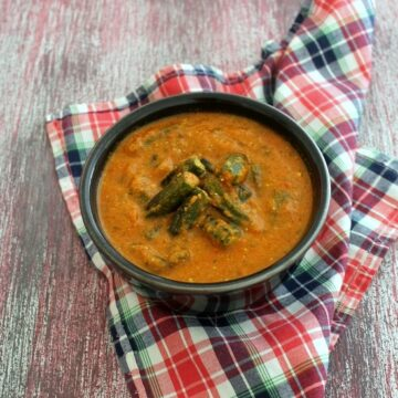 Bhindi masala gravy recipe | Punjabi bhindi curry recipe