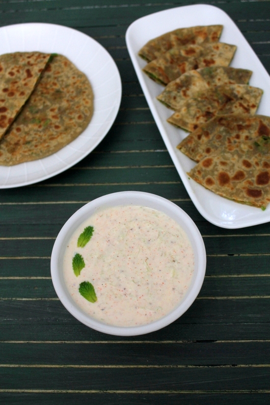 Cucumber Raita Recipe | Cooling, refreshing cucumber raita recipe