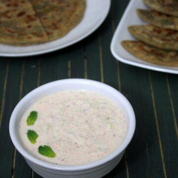 Cucumber Raita Recipe | Cooling, refreshing cucumber raita recipe