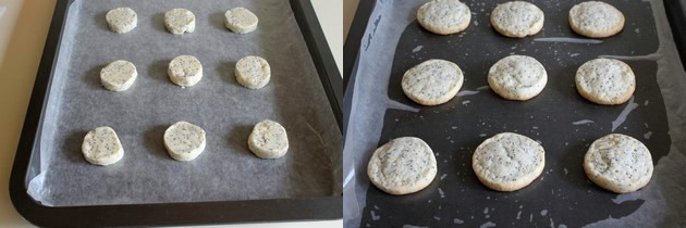 Eggless lemon poppy seed cookies | Eggless cookie recipe