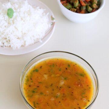 Gujarati dal recipe   How to make gujarati dal