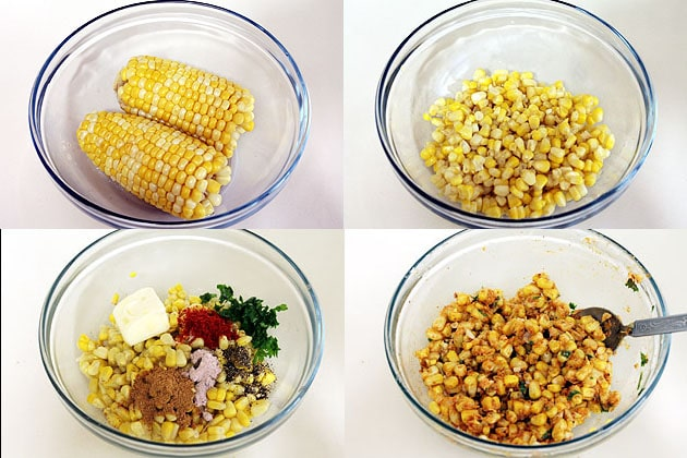 How to make spicy masala sweet corn