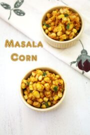 Masala corn recipe   How to make spicy masala sweet corn