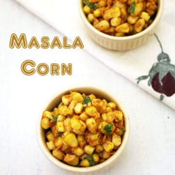 Masala corn recipe | How to make spicy masala sweet corn