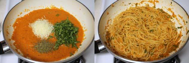Roasted red pepper pasta recipe   Easy pasta recipes