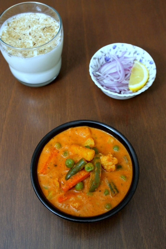 Veg Makhanwala Recipe | How to make Vegetable makhani recipe